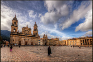 Plaza de Bolivar, Bogota, Colombia - Photo: Pedro Szekely via Flickr, used under Creative Commons License (By 2.0)