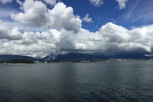 Clouds over Vancouver Harbour - Photo: (c) 2017 - Yihwan