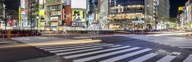 Shibuya Crossing, Tokyo, Japan - Photo: WIL via Flickr, used under Creative Commons License (By 2.0)