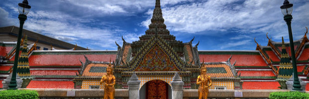 Grand Palace, Bangkok, Thailand - Photo: Greg Knapp via Flickr, used under Creative Commons License (By 2.0)