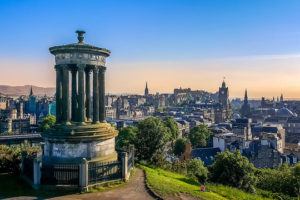 Calton Hill, Edinburgh, Scotland - Photo: Andrei-Daniel Nicolae via Flickr, used under Creative Commons License (By 2.0)