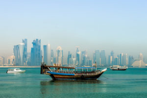 Skyline, Doha, Qatar- Photo: Francisco Anzola via Flickr, used under Creative Commons License (By 2.0)