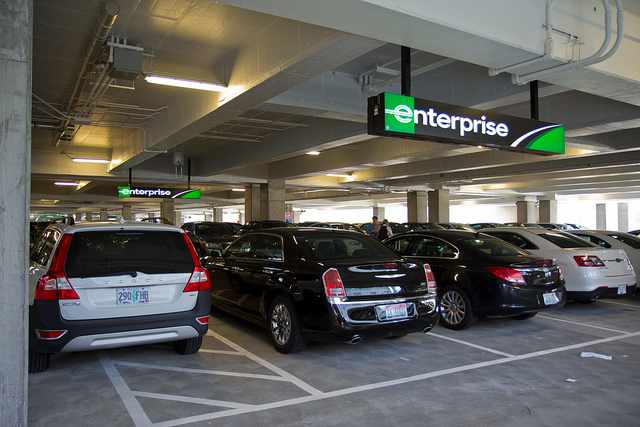 Denver Airport Enterprise Rental Car Return
