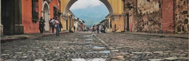Santa Catalina Arch, a photographic hotspot for couples and tourists alike, Antigua, Guatemala - Photo: (c) 2017 - Min Lee of Fuglee Studio