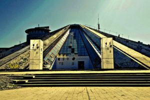 Pyramid of Tirana, Albania - Photo: SarahTz via Flickr, used under Creative Commons License (By 2.0)
