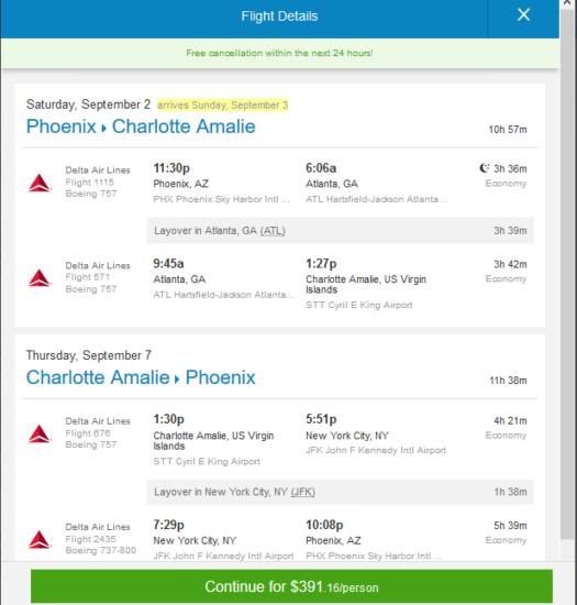 Phx Car Rental Deals Delta – $391: Phoenix – St. Thomas, US Virgin Islands. Roundtrip ...