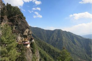 Taktsang Monastery (Tiger's Nest) near Paro. - Photo: (c) 2017 - Jennifer Wong of From Mississippi with Love