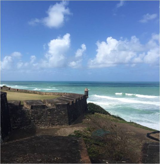 View From Castillo De San Cristóbal In Old Juan Photo C 2017 Yvonne Of Hello Wander World