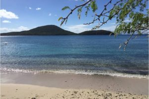 Tamarindo Beach in Culebra Island – best place to swim with sea turtles! - Photo: (c) 2017 - Yvonne of Hello Wander World