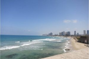 Tel Aviv Skyline from Jaffa - Photo: (c) 2016 - Jennifer Wong of From Mississippi with Love