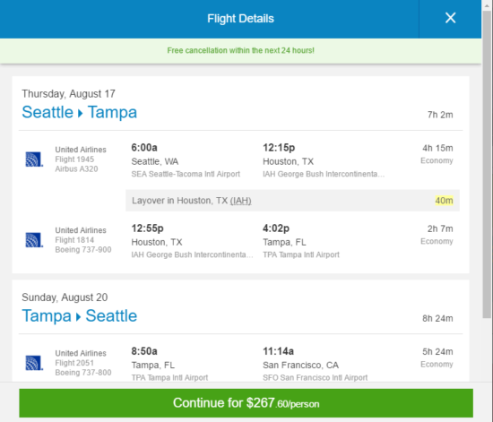 The Flight Deal Summer Fare United 268 Seattle