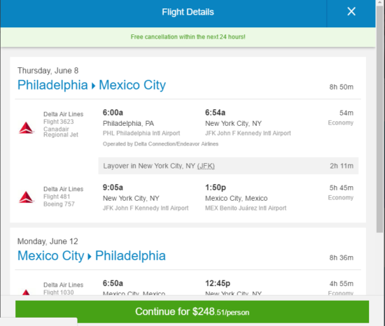 The Flight Deal Fare Gone Delta 249 Philadelphia