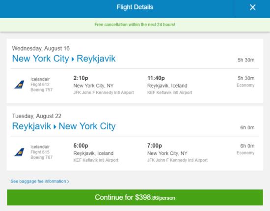 The Flight Deal Summer Icelandair 399 New York
