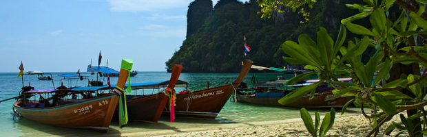 Krabi, Thailand - Photo: Nicolas Vollmer, used under Creative Commons License (By 2.0)