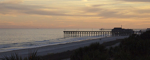 14th Street Pier, Myrtle Beach, South Carolina - Photo: Alan Sterling via Flickr, used under Creative Commons License (By 2.0)