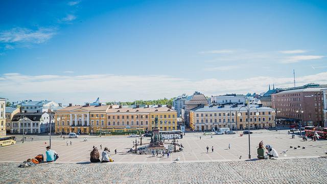Scandinavian Airlines San Francisco Helsinki Finland