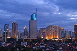 Skyline, Jakarta, Indonesia - Photo: The Diary of a Hotel Addict via Flickr, used under Creative Commons License (By 2.0)