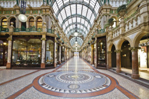 County Arcade Victoria Quarter, Leeds, England - Photo: Michael D Beckwith via Flickr, used under Creative Commons License (By 2.0)