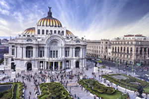 Palacio de Bellas Artes, Mexico City, Mexico - Photo: Lui_piquee via Flickr, used under Creative Commons License (By 2.0)