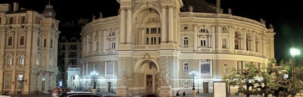 Opera House, Odessa, Ukraine - Photo: Aleksandr Zykov via Flickr, used under Creative Commons License (By 2.0)
