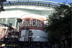 Take in a baseball game at the enclosed and air-conditioned Chase Field.  - Photo: (c) 2017 - Asonta Benetti