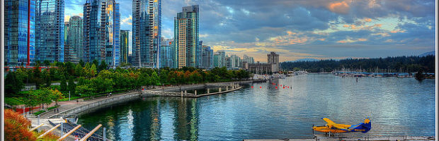 Coal Harbor, Vancouver, Canada - Photo: tdlucas5000 via Flickr, used under Creative Commons License (By 2.0)