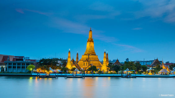 United / All Nippon Airways: Newark – Bangkok, Thailand. $517. Roundtrip, including all Taxes