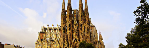 La Sagrada Familia, Barcelona, Spain - Photo: Boris Kasimov via Flickr, used under Creative Commons License (By 2.0)