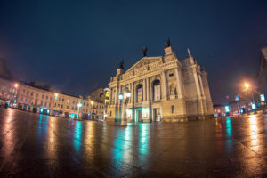 Opera House, Lviv, Ukraine - Photo: Juanedc via Flickr, used under Creative Commons License (By 2.0)