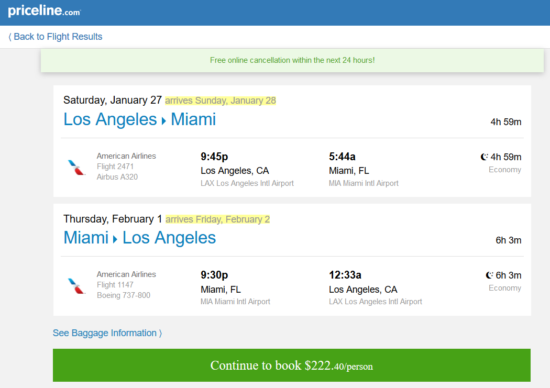 The Flight Deal Fare Gone American 222 Los Angeles