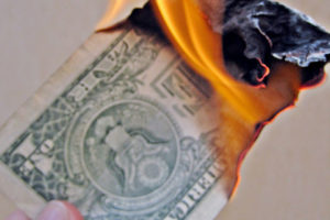 DCC is like burning money - Photo: TaxRebate.org.uk via Flickr, used under Creative Commons License (By 2.0)