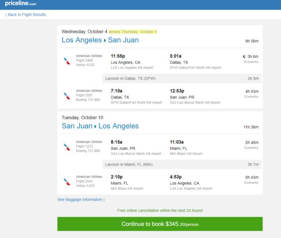 The Flight Deal American Delta 345 Los Angeles