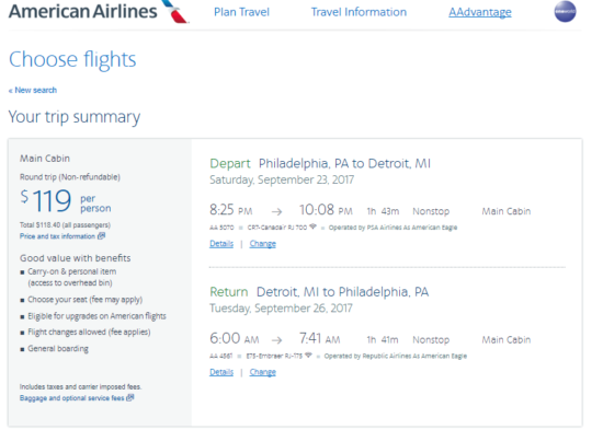 Airfare Myrtle Beach To Detroit
