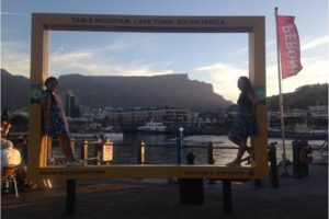 Table Mountain from the V&A Waterfront. - Photo: (c) 2017 - Jennifer Wong of From Mississippi with Love