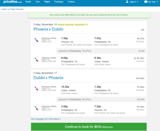 Tours To Ireland Including Airfare