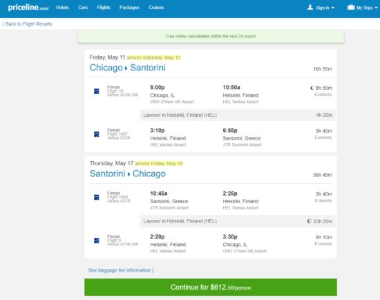 The Flight Deal | Finnair – $613: Chicago – Santorini ...