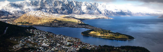 Queenstown, New Zealand - Photo: Bernard Spragg. NZ via Flickr, used under Creative Commons License (By 2.0)