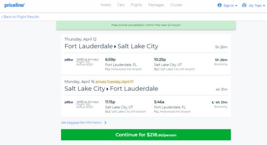 The Flight Deal Jetblue 219 Fort Lauderdale Salt