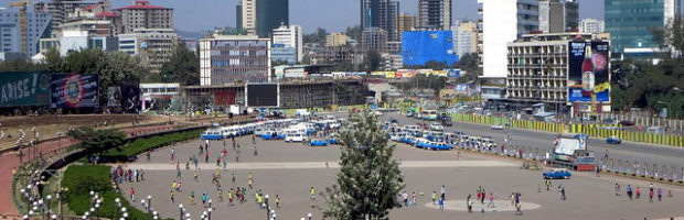 Meskal Square, Addis Ababa, Ethiopia - Photo: David Stanley via Flickr, used under Creative Commons License (By 2.0)