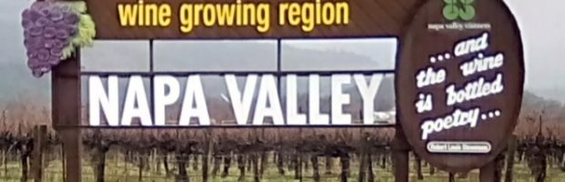 "Iconic ""Welcome to Napa Valley"" sign - Photo: (c) 2018 - Jim Fatzinger, The Travel Organizer"