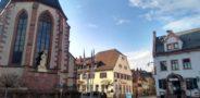 St. Ulrich's Church and the 4-star Deidesheimer Hof (R) - Photo: (c) 2018 - Jim Fatzinger, The Travel Organizer