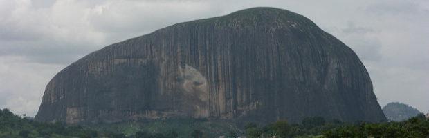 Zuma Rock, Abuja, Nigeria - Photo: Dolapo Falola via Flickr, used under Creative Commons License (By 2.0)