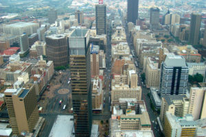 Skyline, Johannesburg, South Africa - Photo: Adamina via Flickr, used under Creative Commons License (By 2.0)