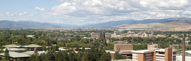 Missoula, Montana - Photo: edwardhblake via Flickr, used under Creative Commons License (By 2.0)