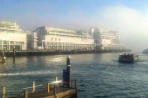 The dreamy Hilton Auckland on Princes Wharf is at the far right - Photo: (c) 2018 - Jim Fatzinger, The Travel Organizer