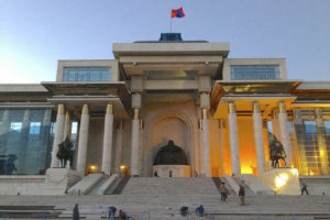 Sukhbaatar Square, Ulaanbaatar, Mongolia - Photo: Clay Gilliland via Flickr, used under Creative Commons License (By 2.0)
