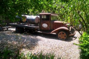 Tasting room yard art at  Artevino (Maple Creek Winery) - Photo: (c) 2018 - Jim Fatzinger, The Travel Organizer