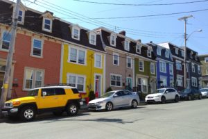 The beautiful architectural scenery in St. John's - Photo: (c) 2018 - Sarah-Jessica of The World At Your Feet & Fingertips