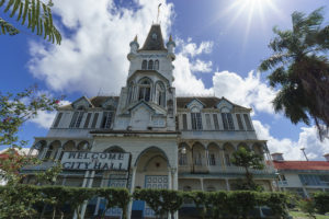 City Hall, Georgetown, Guyana - Photo: Dan Sloan via Flickr, used under Creative Commons License (By 2.0)