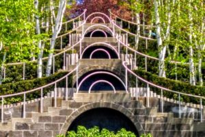The Blue Steps designed by Fletcher Steele for Mabel Choate - Photo: (c) 2019 - Jim Fatzinger, The Travel Organizer